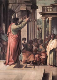 St. Paul preaching in Athens